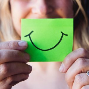 smile everyday to improve emotional well being