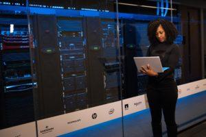IT Professional Managing Computer Servers