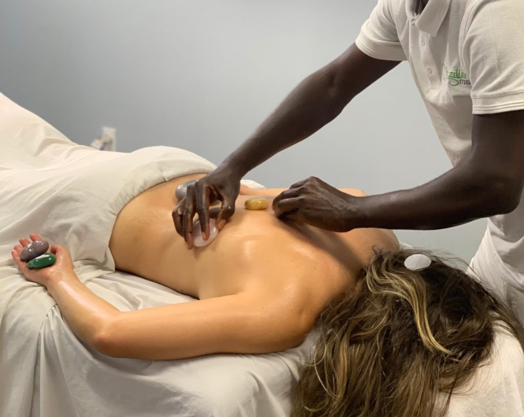 Hot Stone Massage at ICOHS College