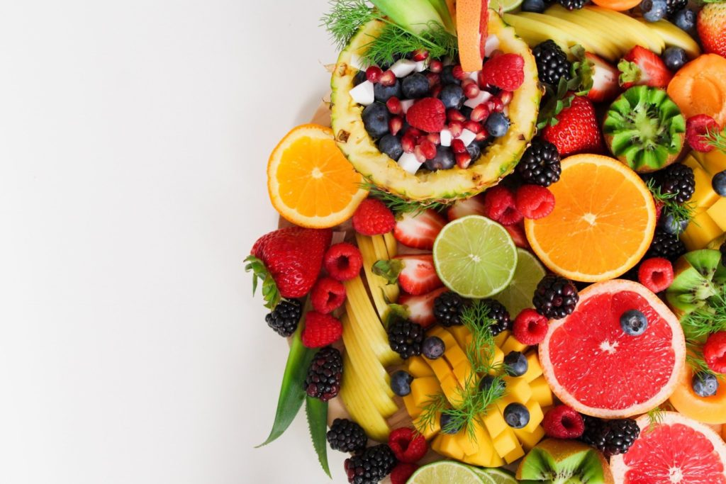 Fruits and vegetables are part of a veganism diet